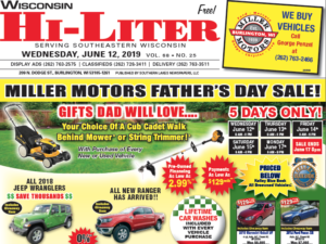 Wisconsin HiLiter for 6/12/2019