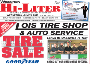 Wisconsin HiLiter for 6/5/2019