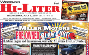 Wisconsin HiLiter for 7/3/2019