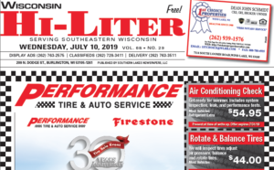 Wisconsin HiLiter for 7/10/2019