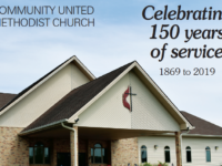 Community United Methodist Church 150 year anniversary