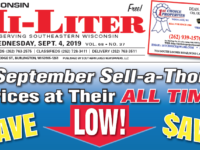 Wisconsin HiLiter for 9/4/2019