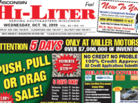 Wisconsin HiLiter for 10/16/2019