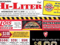 Wisconsin HiLiter for 10/9/2019