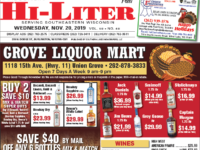 Wisconsin HiLiter for 11/20/2019