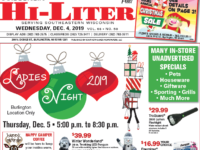Wisconsin HiLiter for 12/4/2019
