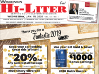Wisconsin HiLiter for 1/15/20