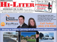 Wisconsin HiLiter for 2/19/2020