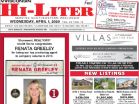 Wisconsin HiLiter for 4/1/2020